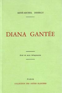 """René-Michel Desergy, """"Diana gantée"""""""