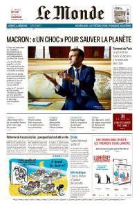 Le Monde du Mercredi 13 Décembre 2017