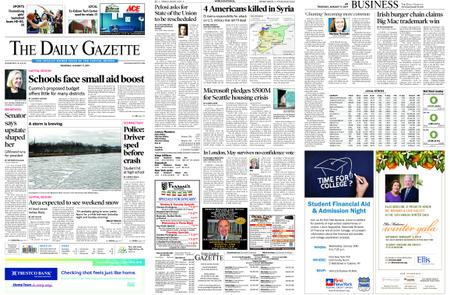 The Daily Gazette – January 17, 2019