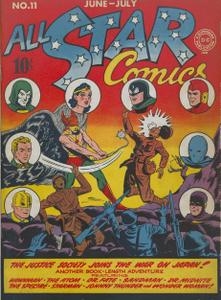 All-Star Comics 11 (DC) (Jun-Jul 1942)