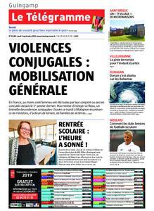Le Télégramme Guingamp – 02 septembre 2019