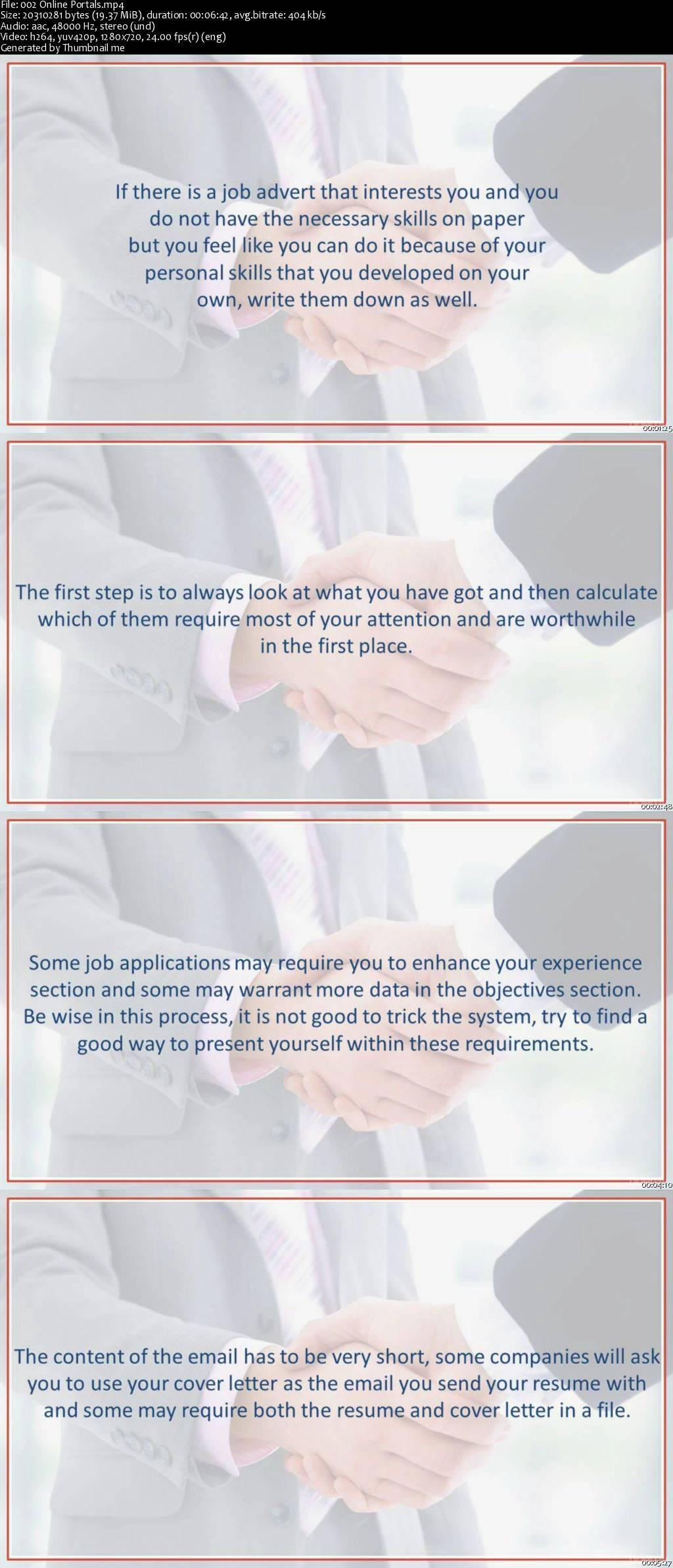 Interviewing skills & Job search: Resume writing, LinkedIn / AvaxHome