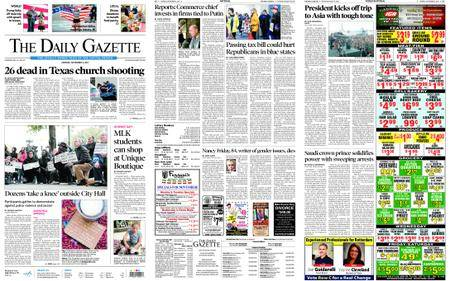 The Daily Gazette – November 06, 2017