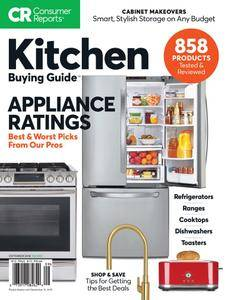 Consumer Reports Kitchen Planning and Buying Guide - September 2018