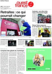 Ouest-France Édition France – 19 juillet 2019