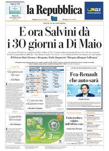 la Repubblica – 28 maggio 2019