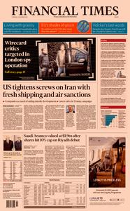 Financial Times Europe – 12 December 2019