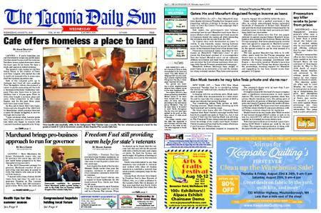 The Laconia Daily Sun – August 08, 2018