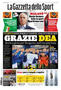 La Gazzetta dello Sport – 11 marzo 2020