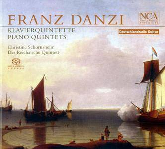 Christine Schornsheim, Das Reicha'sche Quintett - Franz Danzi: Piano Quintets (2007)