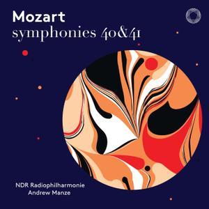 NDR Radiophilharmonie & Andrew Manze - Mozart: Symphonies Nos. 40 & 41 (Live) (2019) [Official Digital Download]