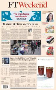 Financial Times Europe - January 16, 2021