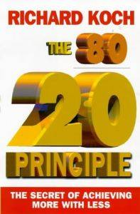 The 80/20 Principle: The Secret of Achieving More With Less (Repost)