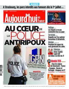 Aujourd'hui en France – 26 juin 2018