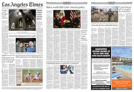 Los Angeles Times – October 09, 2020