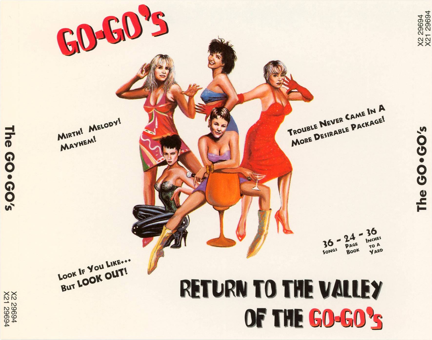 Go-Go's - Return To The Valley Of The Go-Go's (1994) 2CDs [Re-Up]
