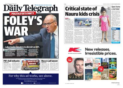 The Daily Telegraph (Sydney) – October 25, 2018