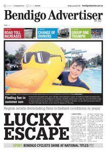 Bendigo Advertiser - January 8, 2018