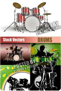 Drums - Stock Vectors