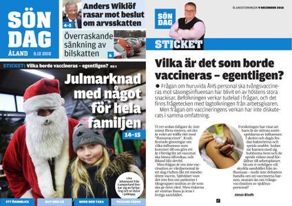 Ålandstidningen – 09 december 2018