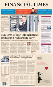 Financial Times Europe – 16 November 2018
