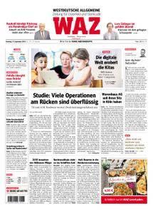 WAZ Westdeutsche Allgemeine Zeitung Oberhausen-Sterkrade - 11. September 2018