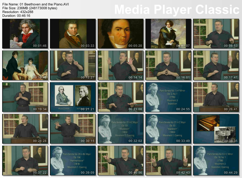 TTC VIDEO - Beethoven's Piano Sonatas (2011)