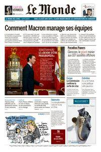 Le Monde du Vendredi 10 Novembre 2017