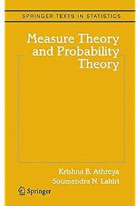 Measure Theory and Probability Theory [Repost]