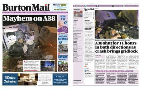 Burton Mail – November 30, 2017