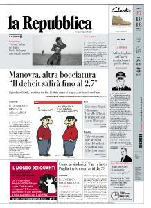la Repubblica - 27 Ottobre 2018