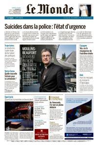 Le Monde du Dimanche 21 et Mardi 23 Avril 2019