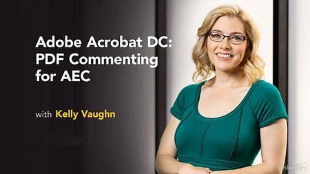 Lynda - Adobe Acrobat DC: PDF Commenting for AEC