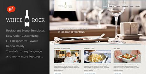 ThemeForest - White Rock v1.8 - Restaurant & Winery Theme