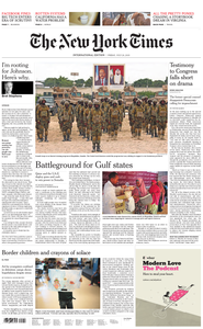 International New York Times - 26 July 2019