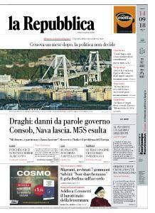 la Repubblica - 14 Settembre 2018