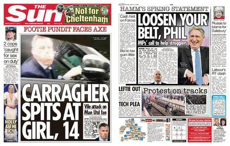 The Sun UK – 12 March 2018