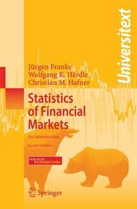 Statistics of Financial Markets: An Introduction (Repost)
