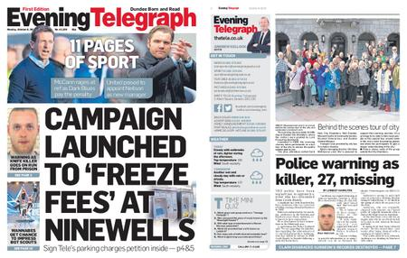 Evening Telegraph First Edition – October 08, 2018