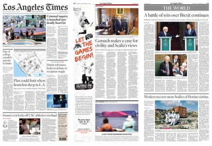 Los Angeles Times – September 10, 2019