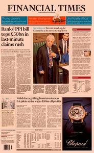 Financial Times UK – 10 September 2019