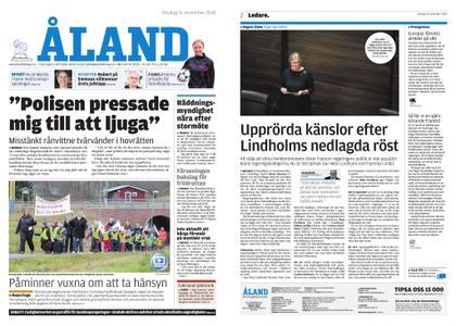Ålandstidningen – 21 november 2018