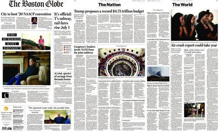 The Boston Globe – March 12, 2019