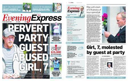 Evening Express – August 28, 2018