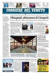 Corriere del Veneto Vicenza e Bassano – 16 settembre 2018