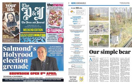 The Press and Journal Moray – March 27, 2021
