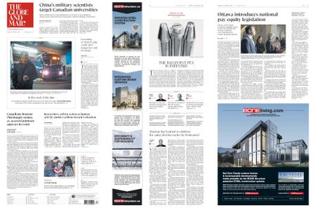 The Globe and Mail – October 30, 2018