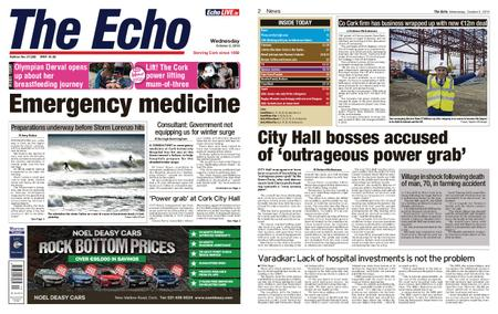 Evening Echo – October 02, 2019