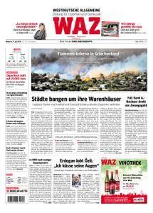 WAZ Westdeutsche Allgemeine Zeitung Oberhausen-Sterkrade - 25. Juli 2018