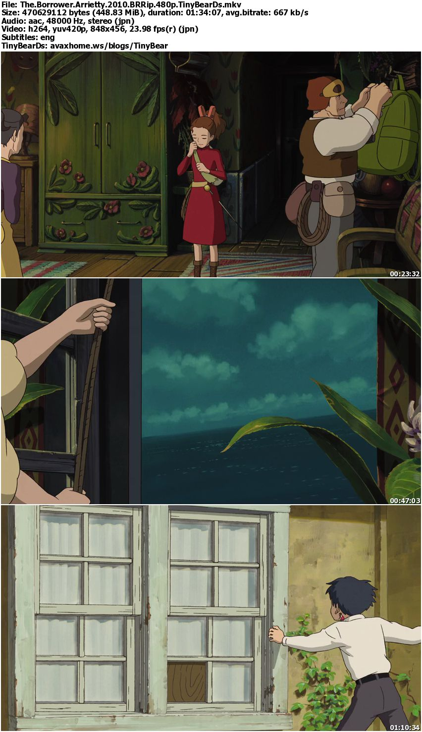 The Borrower Arrietty (2010) [Reuploaded]